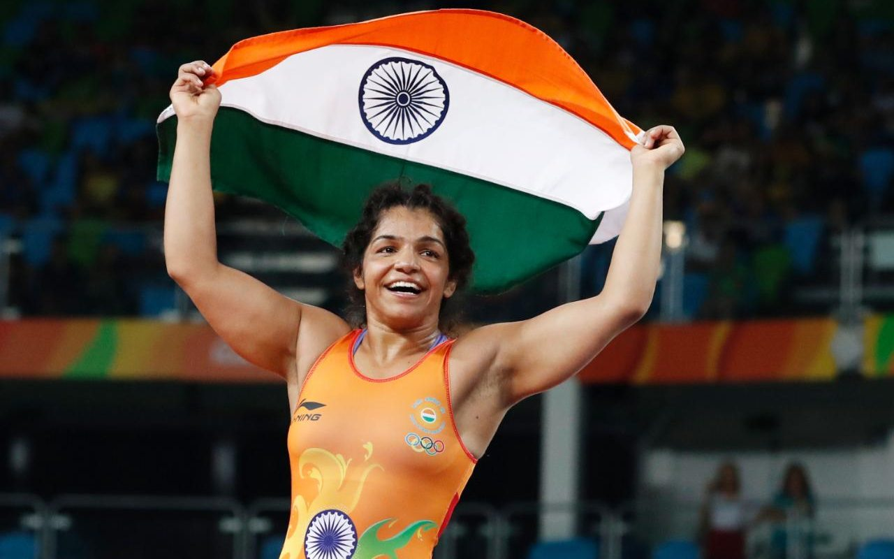 Sakshi Malik won the Bronze Medal
