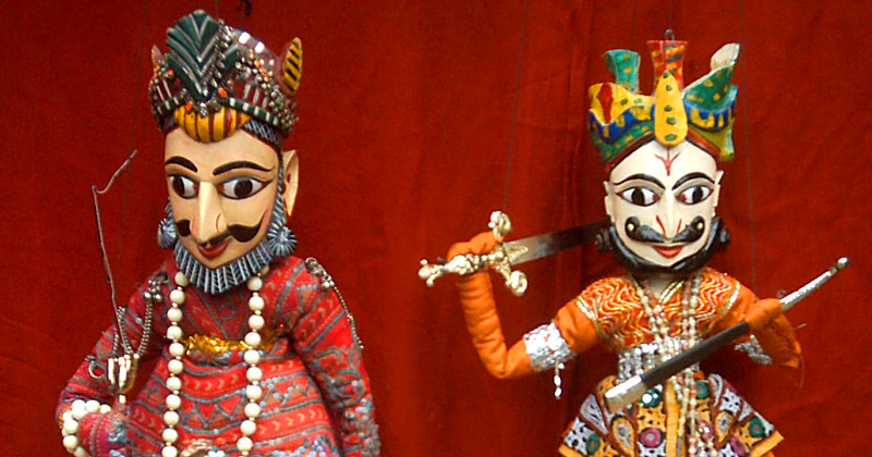 kathputli puppetry maharajas express train