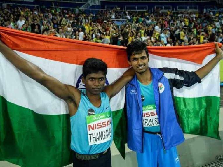Paralympics Stars Varun Bhati and Thangavelu Mariyappan