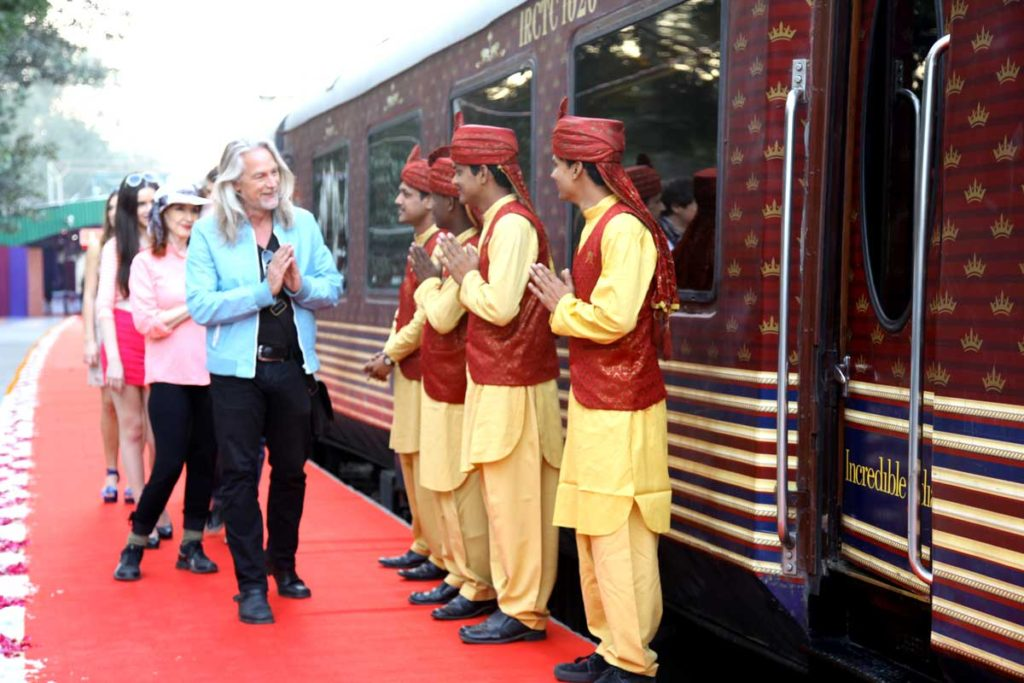 Welcome Guest on Maharajas Express