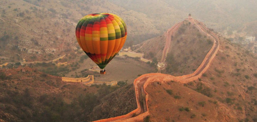 Hot Air Ballloon in Jaipur