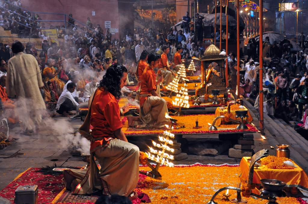 Varanasi Morning Ganga Aarti
