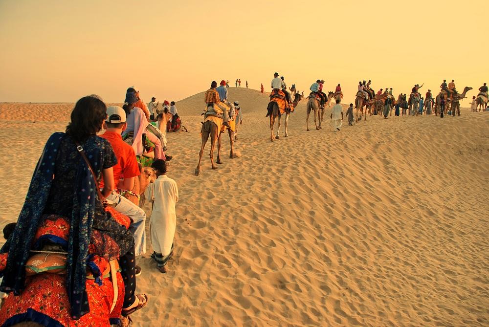 Camel Ride Jaisalmer, Rajasthan