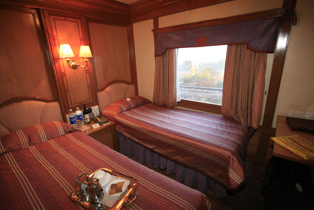 Twin Bedded Cabin, Maharaja Express - Royal Lifestyle