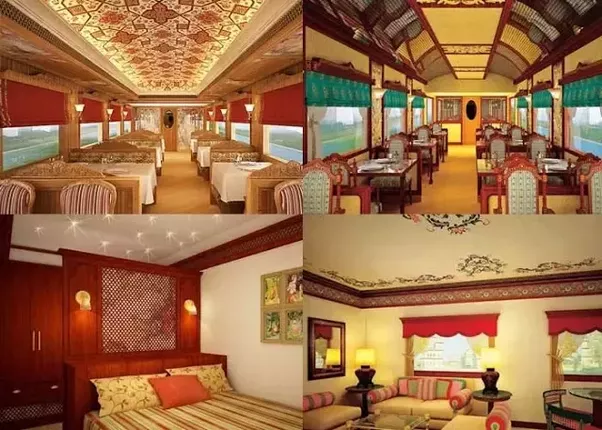 Cabins in Maharaja Express Train