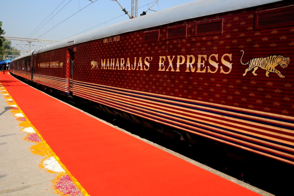 Journeys of Maharajas' Express Train