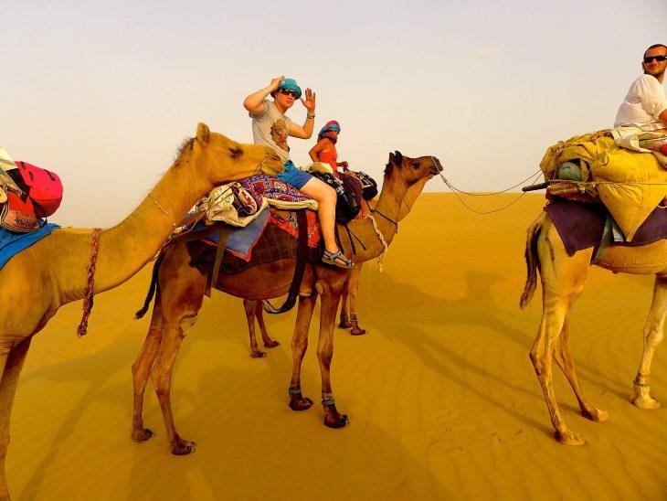 Thar Desert in Jaisalmer