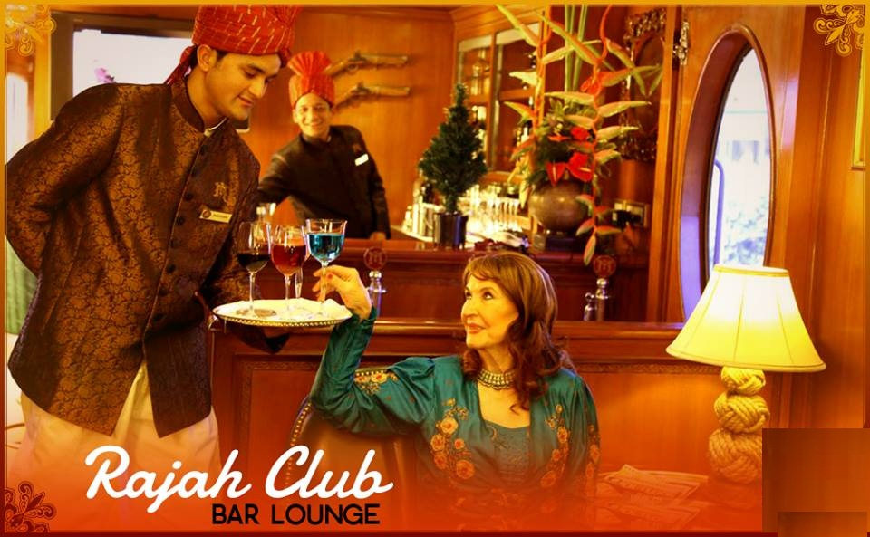 Rajah Club of Maharaja Express