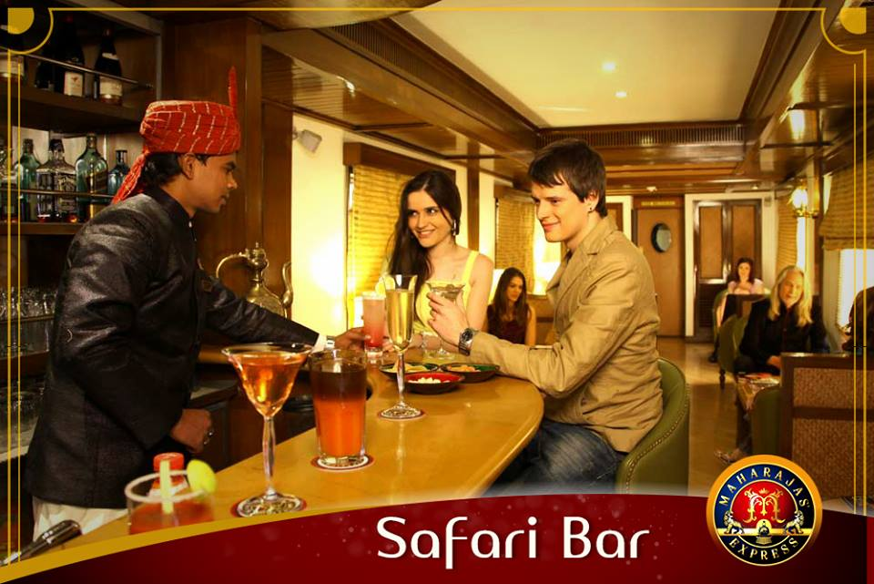 Safari Bar of Maharaja Express