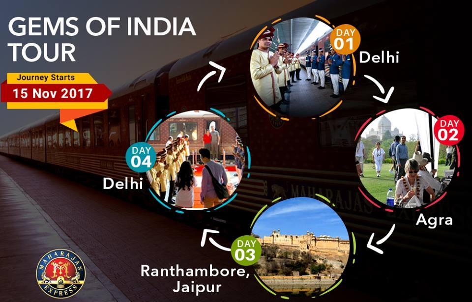 Maharajas Express Gems of India