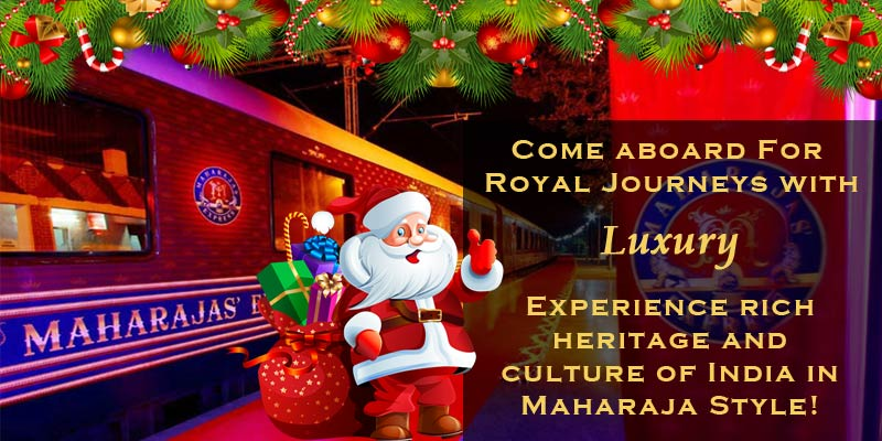 Christmas Celebration in Maharajas Express