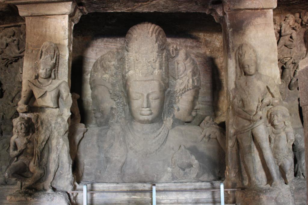 Architecture of Elephanta Caves
