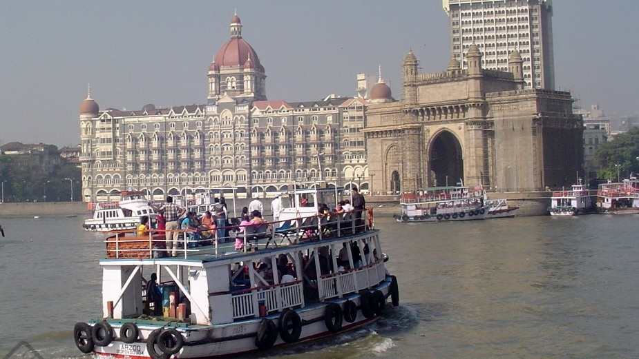 Ferry at Elephanta Caves