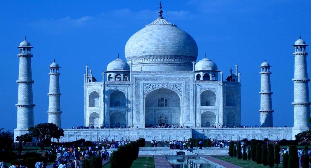 Taj Mahal on full Moon Light, Agra