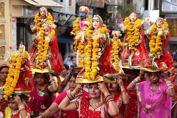 Gangaur Festival, Udaipur