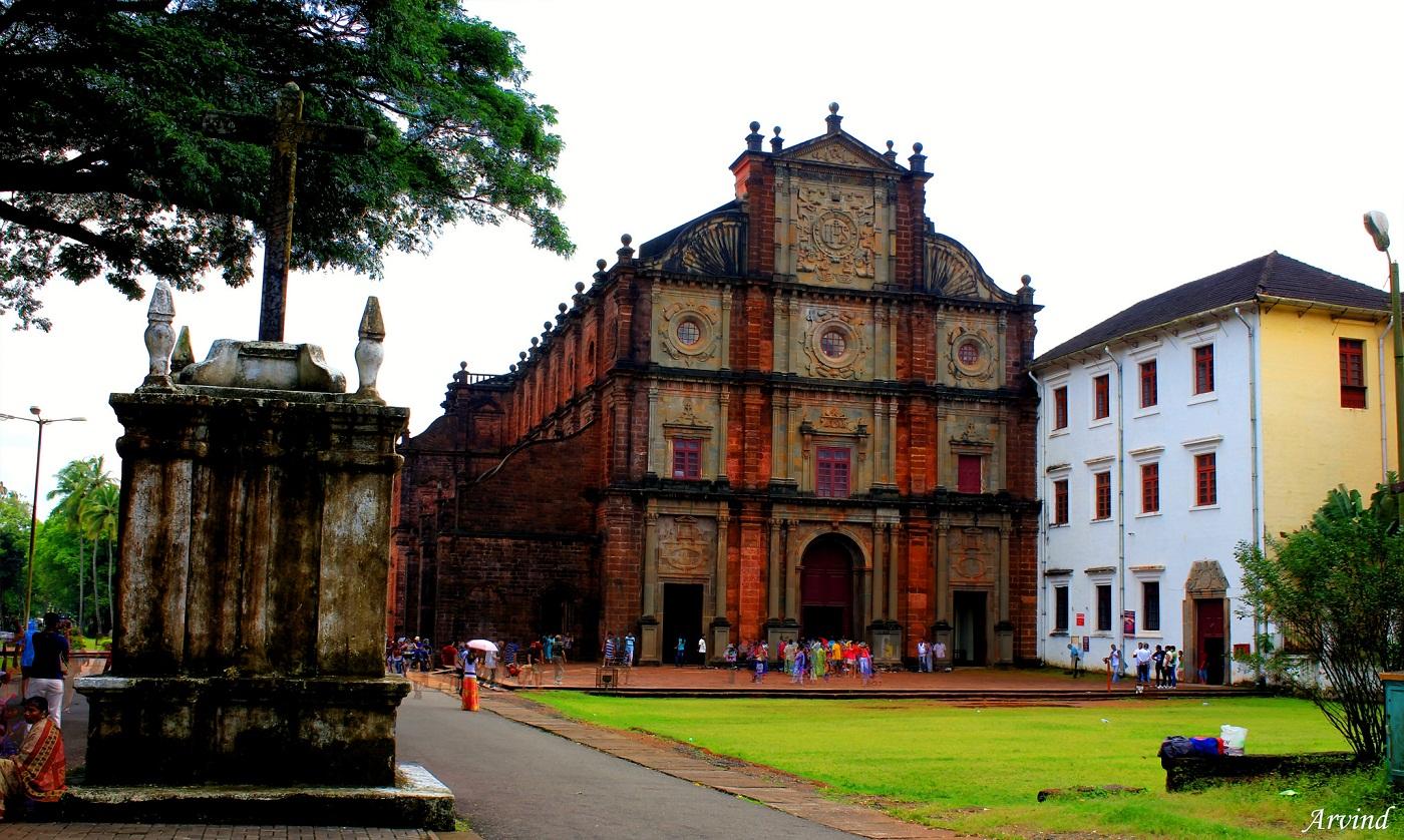 Basilica of bom Jesus, Goa