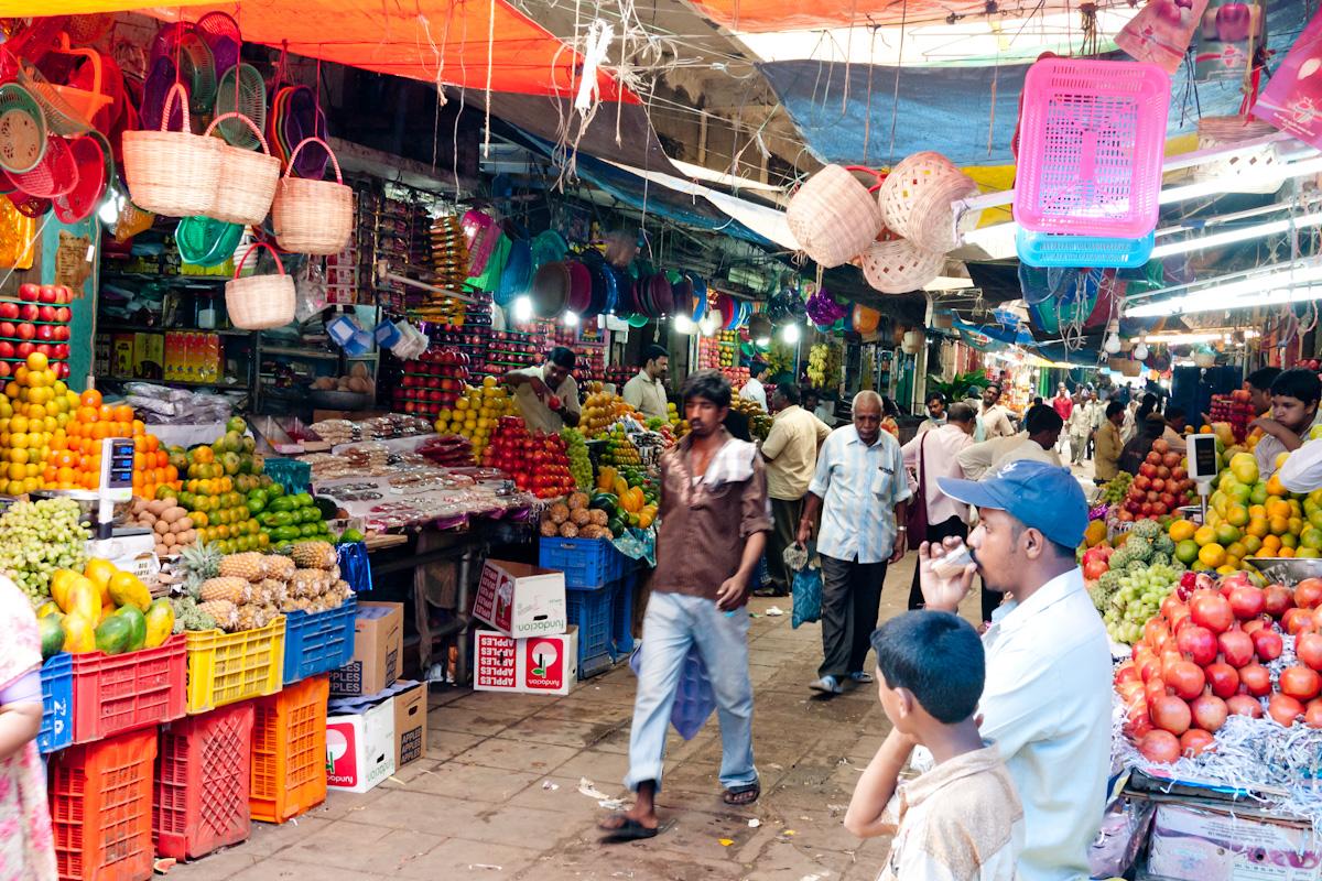 Devaraja Market in Mysore