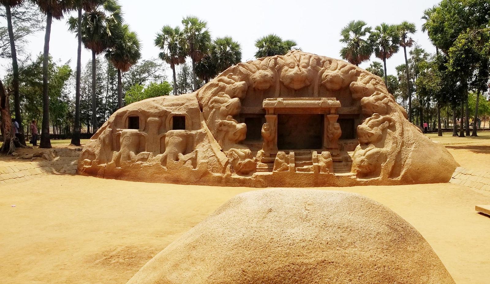 Tiger Caves Mahabalipuram