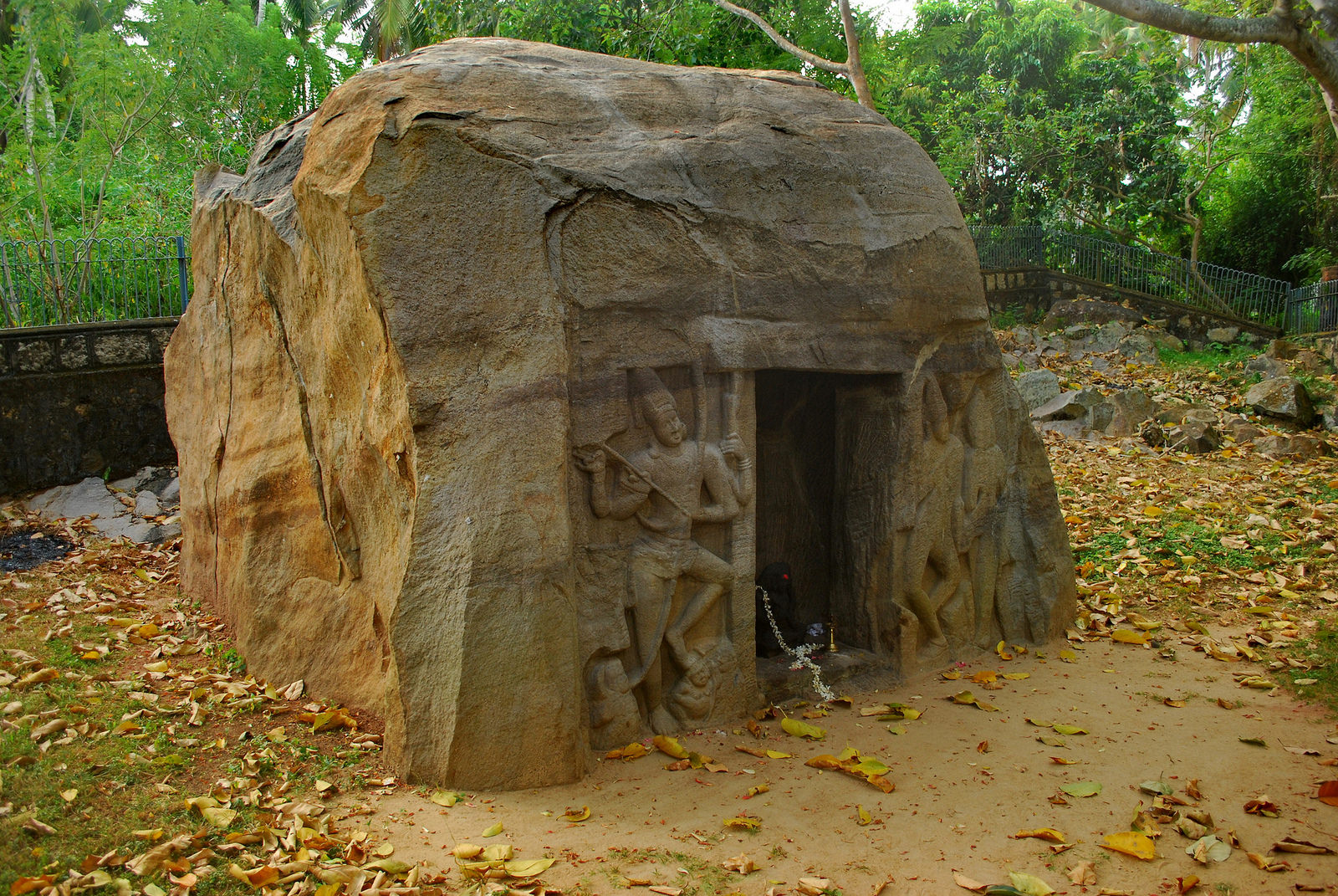 Vizhinjam Rock Cut Cave