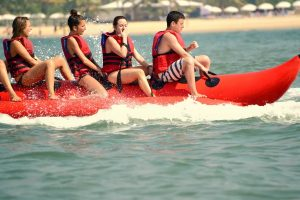 Banana Boat Ride, Goa