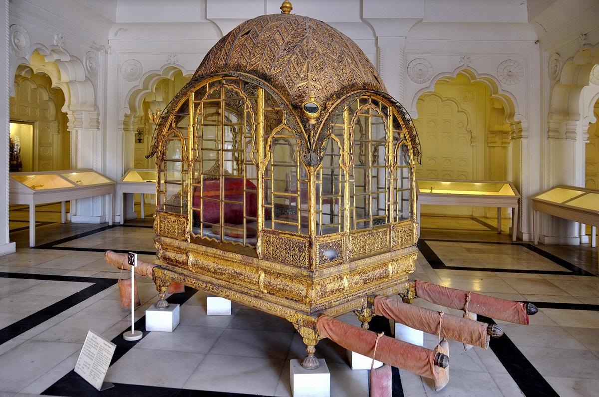 Palanquin Mehrangarh Fort Museum