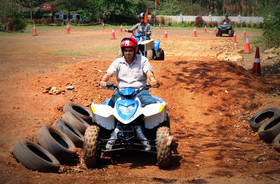 Quad Biking in Goa