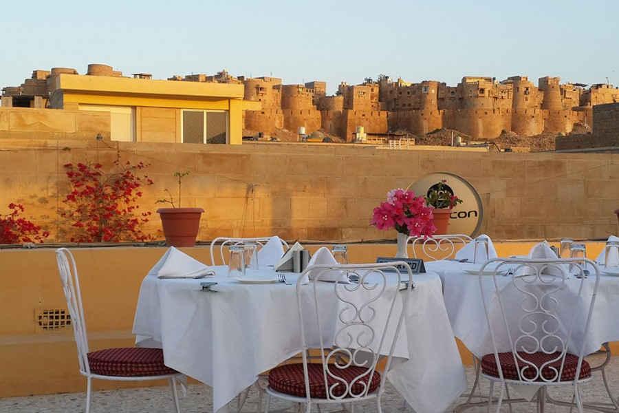 Roof Top Restaurant Jaisalmer