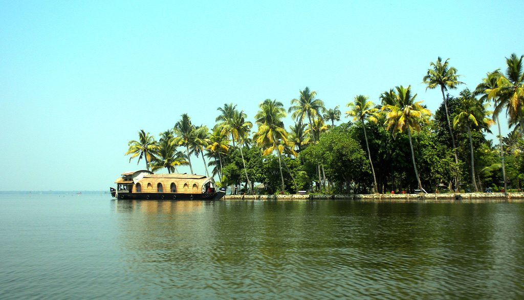 Vembanad Lake, Kumarakom, India