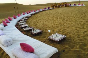 Barbecues in Sand Dunes, Rajasthan