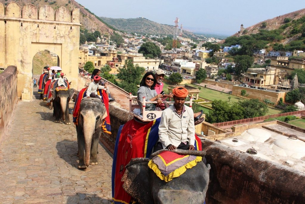 Amber Fort Elephant Safari, Jaipur