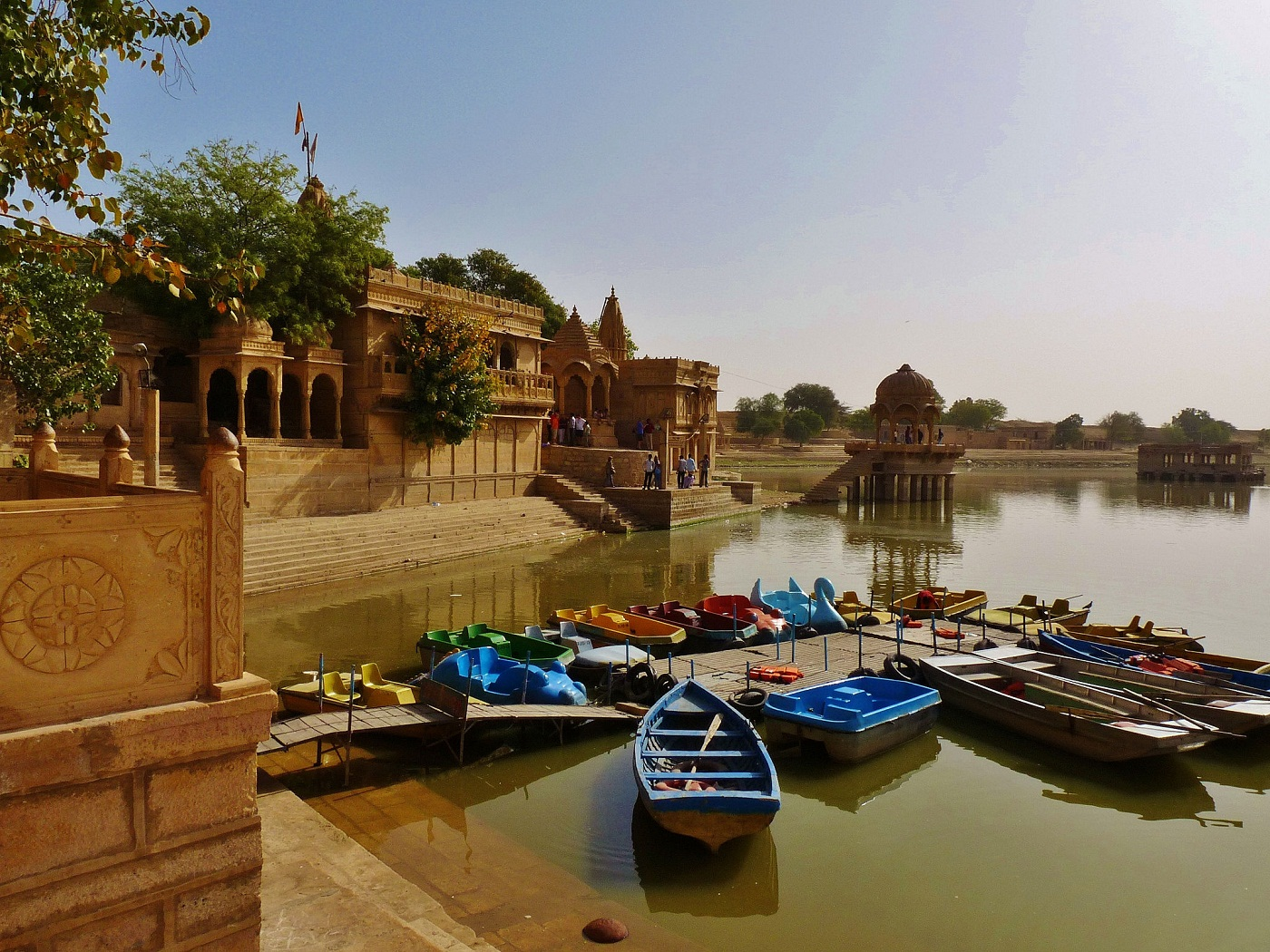 Jaisalmer Lake Boating
