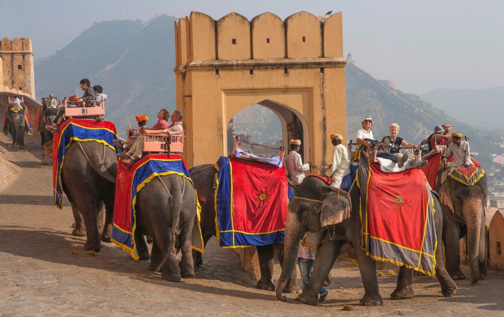 Elephant Safari, Amer Fort Jaipur