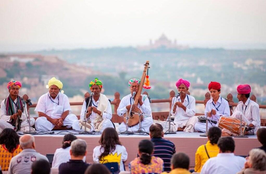 Jodhpur RIFF Musicians Performance