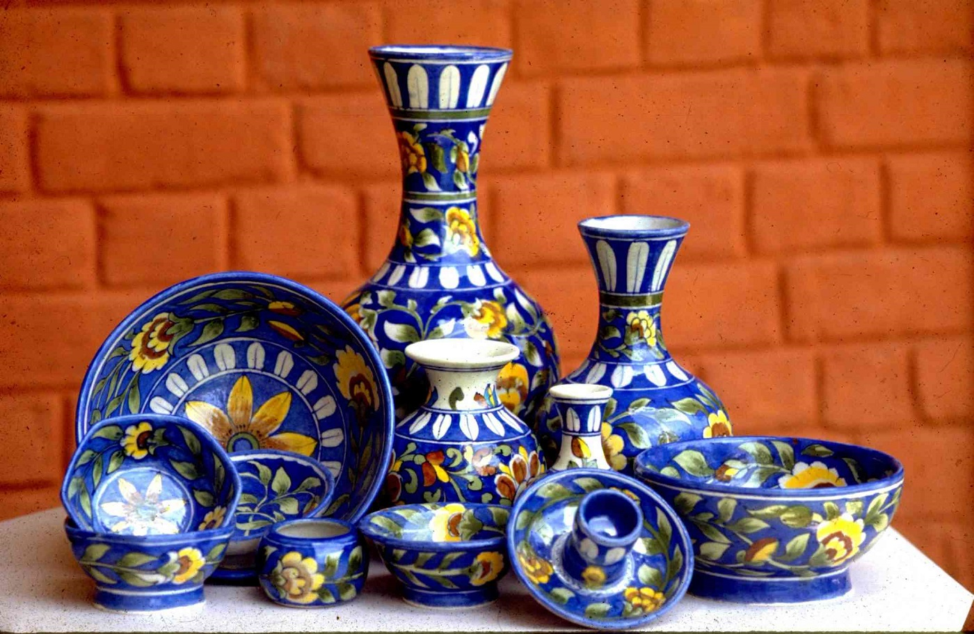 Blue Pottery Rajasthan