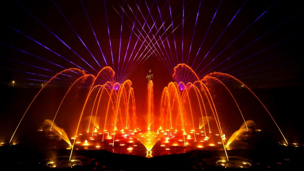 Musical Fountain Show, Akshardham temple