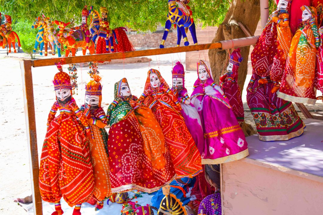 Puppet Toys Rajasthan Shopping