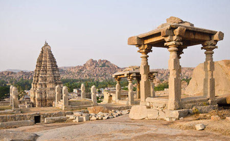 The Maharaja' Hampi Temple