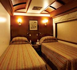 Junior Suite of Maharaja Express