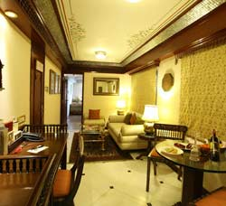 Presidential Cabin of Maharaja Train