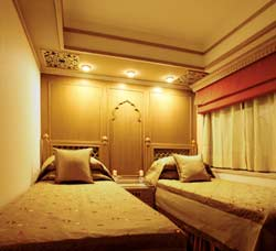 Maharajas Express Presidential Bedroom